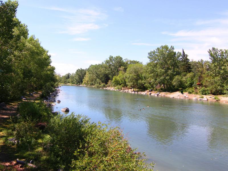 Bow River, Calgary, Canada