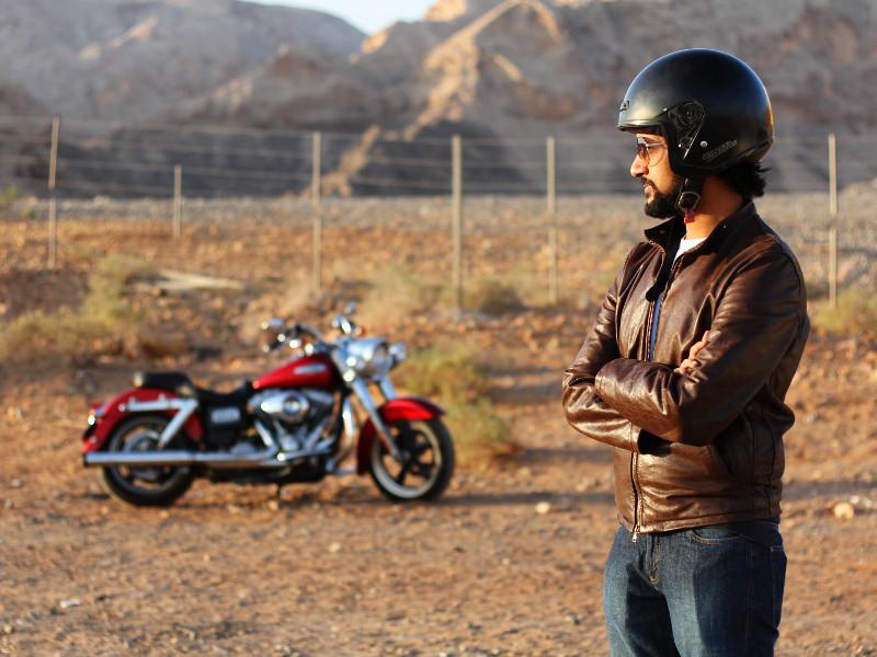 Biker, Maliha, Sharjah