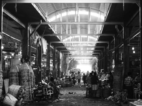 Thiri Mingalar Market, Yangon, Myanmar