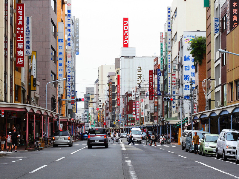 Kappabashi, Tokyo, Japan