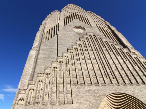 Grundtvig's Church, Copenhagen, Denmark