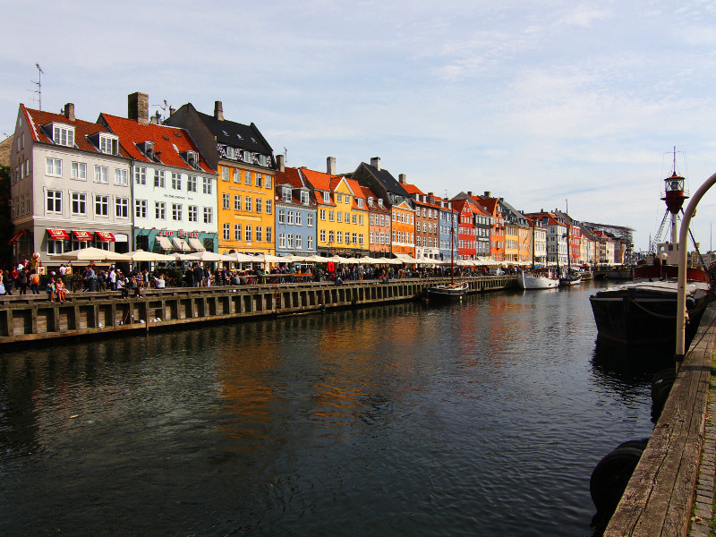 Nyhavn, Copenhagen, Denmark