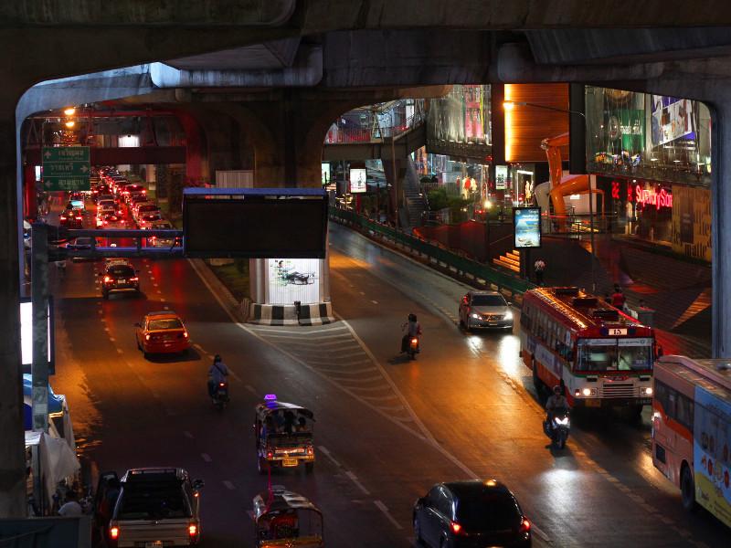 Rama I Road, Bangkok, Thailand