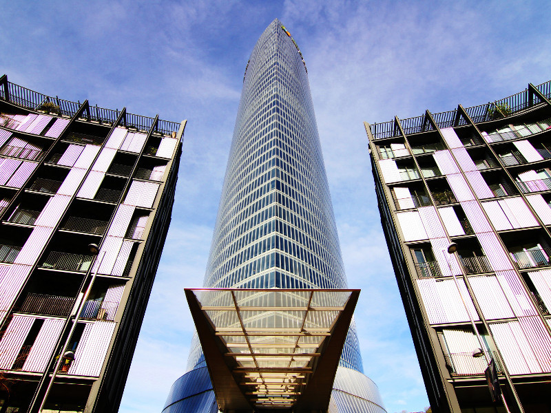 Iberdrola Tower, Bilbao, Spain
