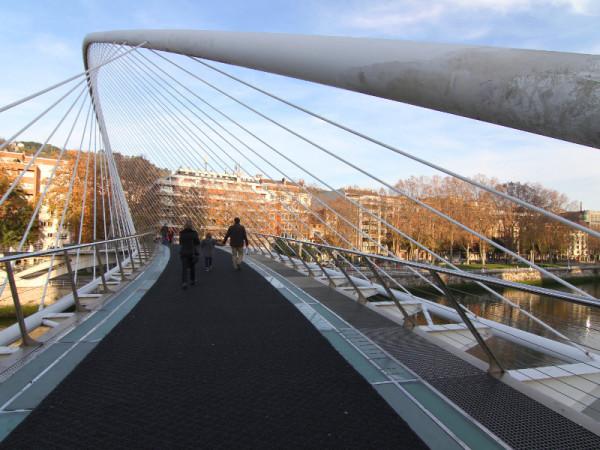 Zubizuri, Bilbao, Spain