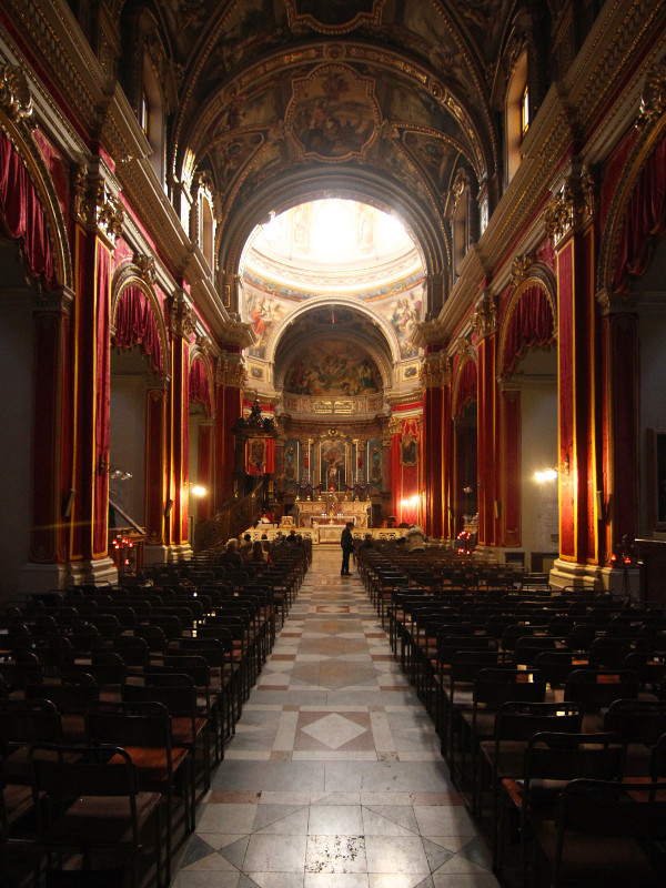 St. Publius Parish Church, Floriana, Malta