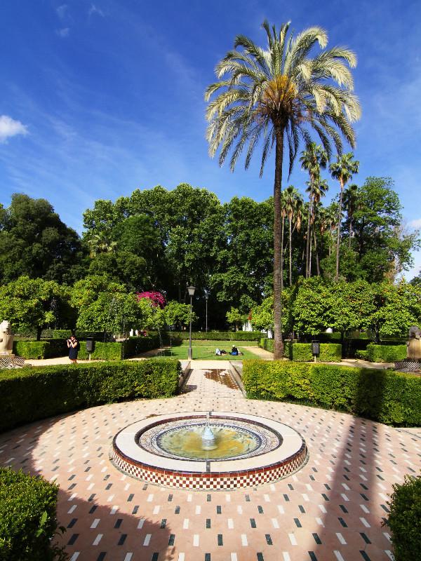 Maria Luisa Park, Seville, Spain
