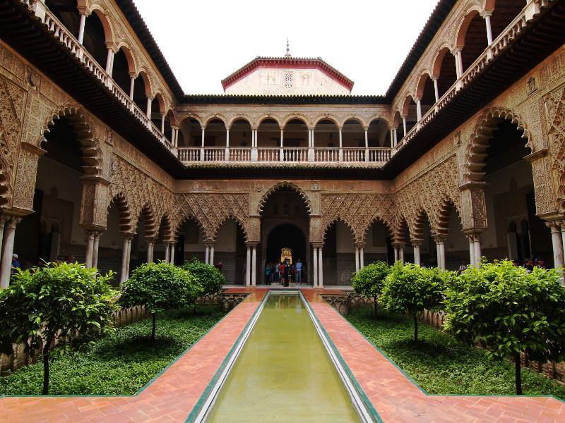 Reales Alcazares, Seville, Spain
