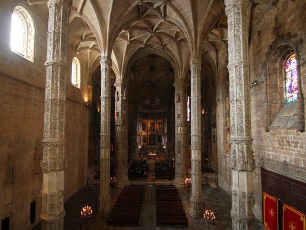 Church of Santa Maria, Lisbon, Portugal