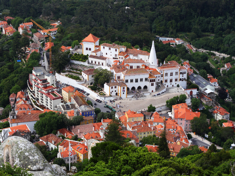 National Palace of Sintra, Sintra, Portugal