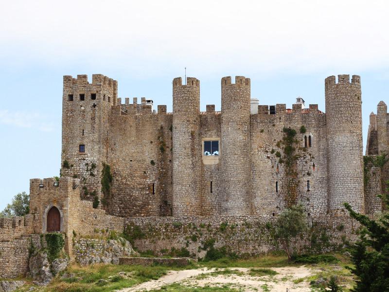 Obidos Castle, Obidos, Portugal