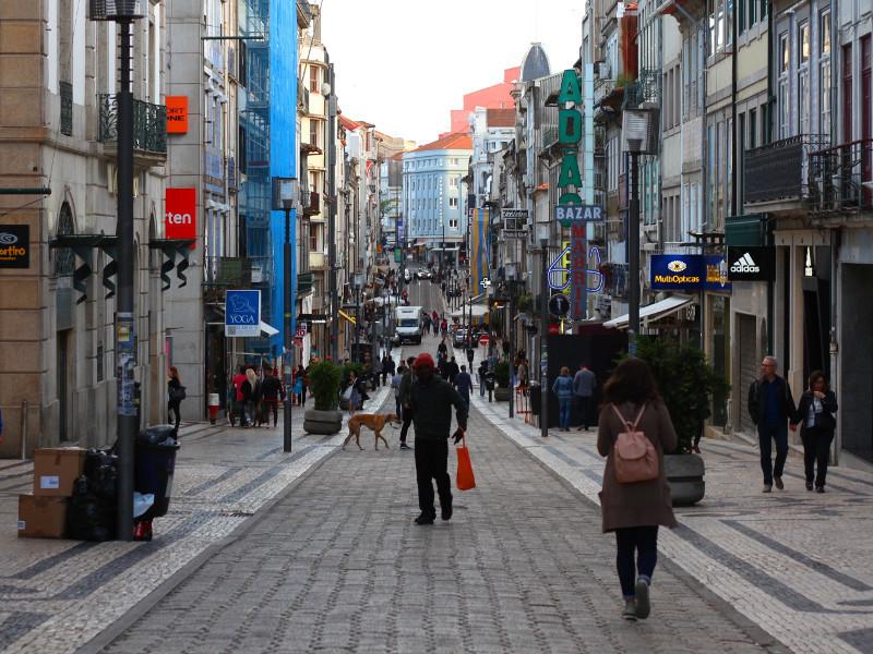 Rua de Santa Catarina, Porto, Portugal