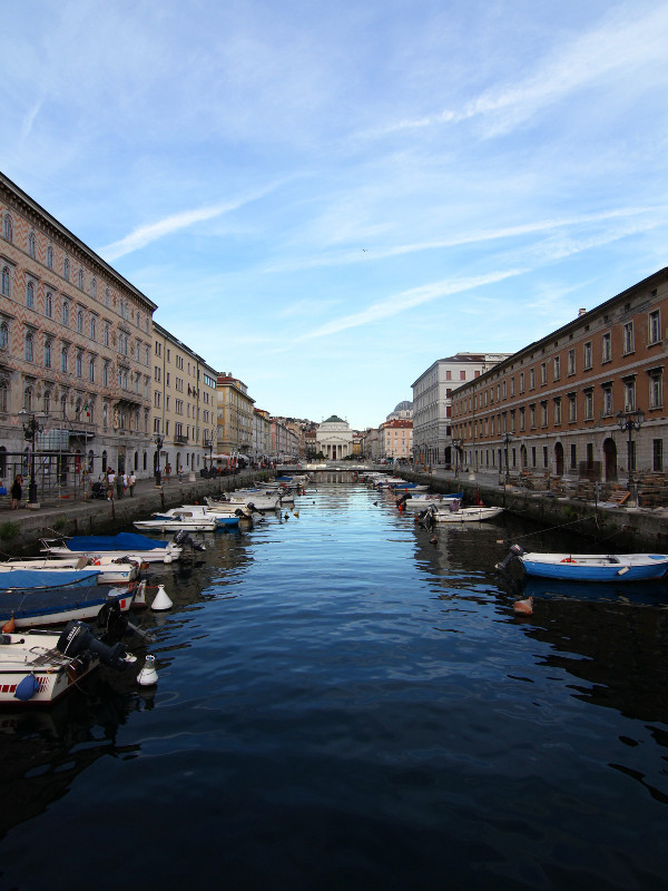 Canale Grand, Trieste, Italy