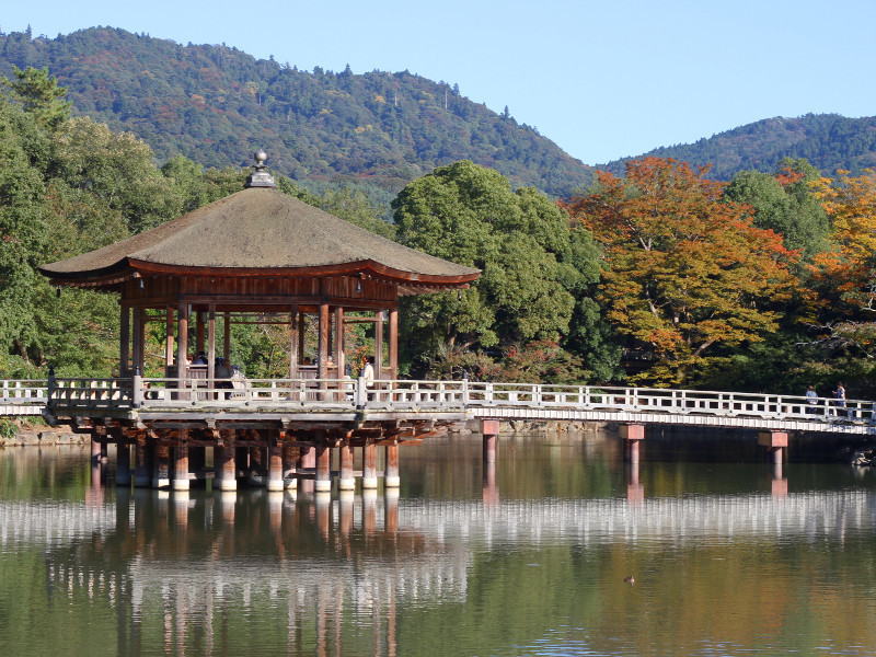 Ukimido Pavilion, Nara, Japan