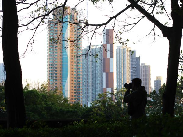 Photographer, Kowloon Walled City Park, Hong Kong