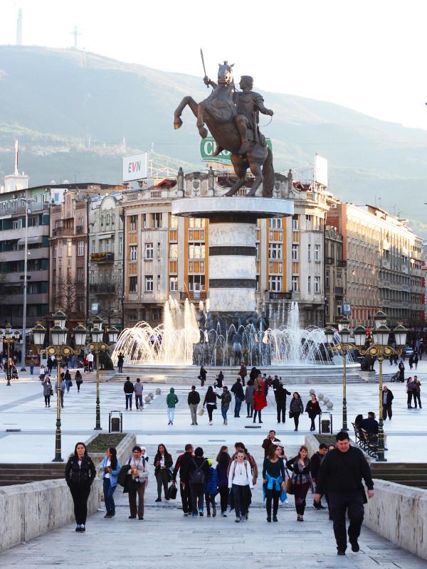 Macedonia Square, Sjopje, Macedonia