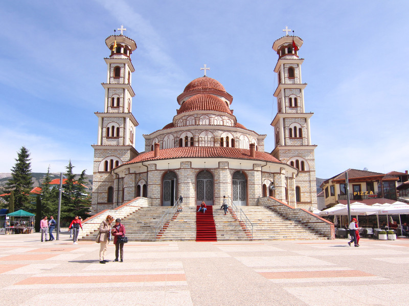 Resurrection Cathedral, Korce, Albania
