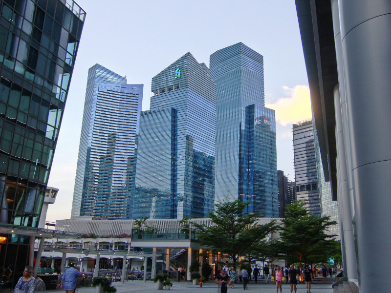 Marina Bay Financial Centre, Singapore