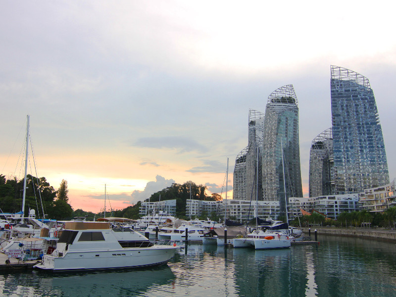 Reflections at Keppel Bay, Singapore