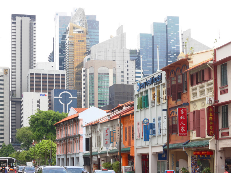 Chinatown and Downtown Core, Singapore