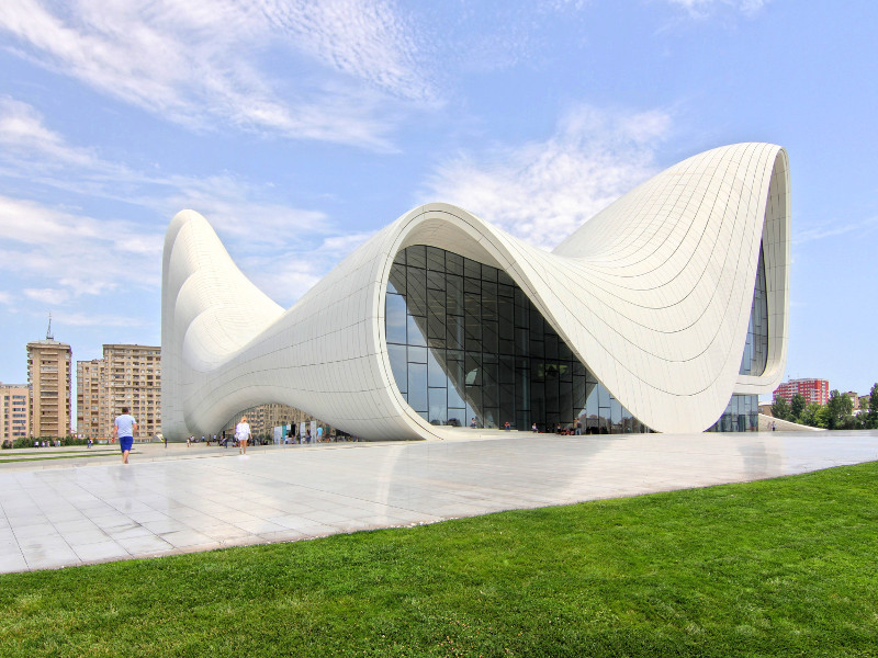 Heydar Aliyev Center, Baku, Azerbaijan