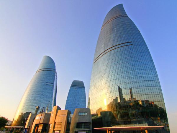 Flame Towers, Baku, Azerbaijan