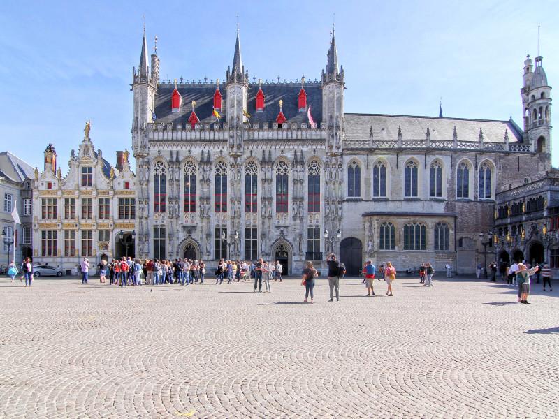 Burg Square, Bruges, Belgium