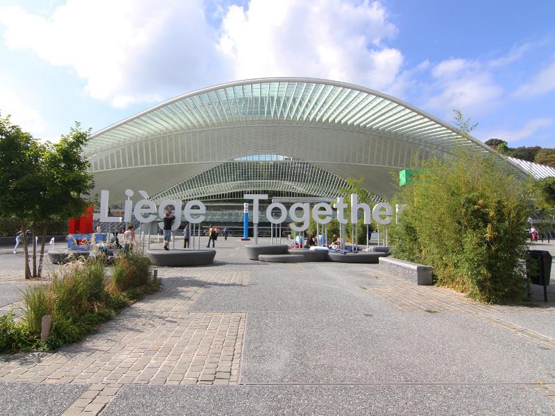 Liege-Guillemins Station, Liege, Belgium