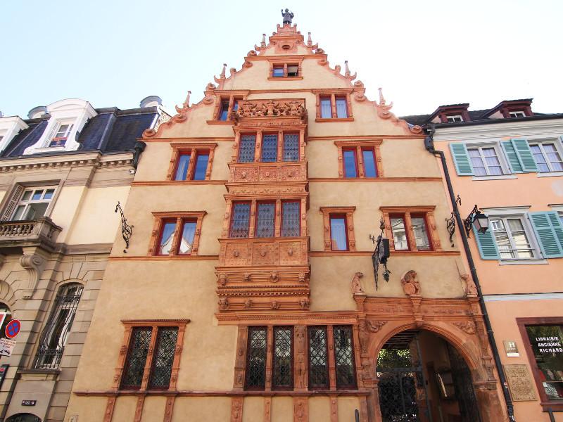 House of Heads, Colmar, France