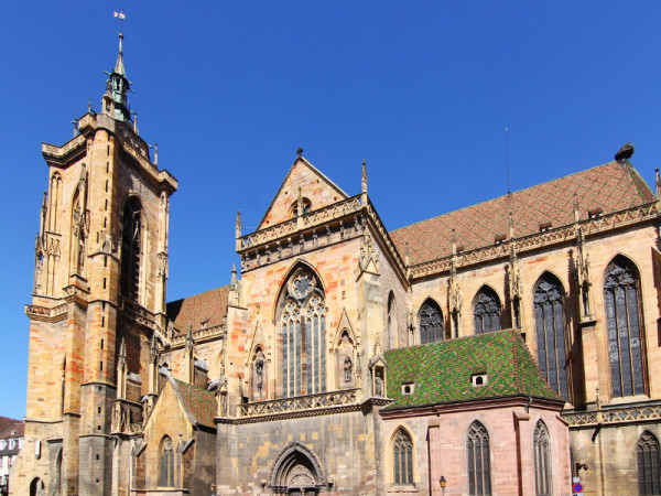 St. Martin's Cathedral, Colmar, France