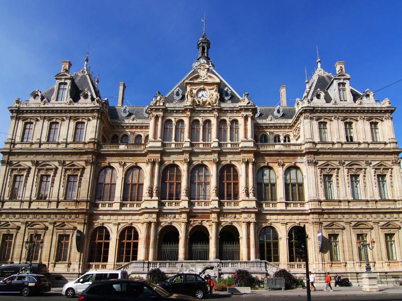 Palais de la Bourse, Lyon, France