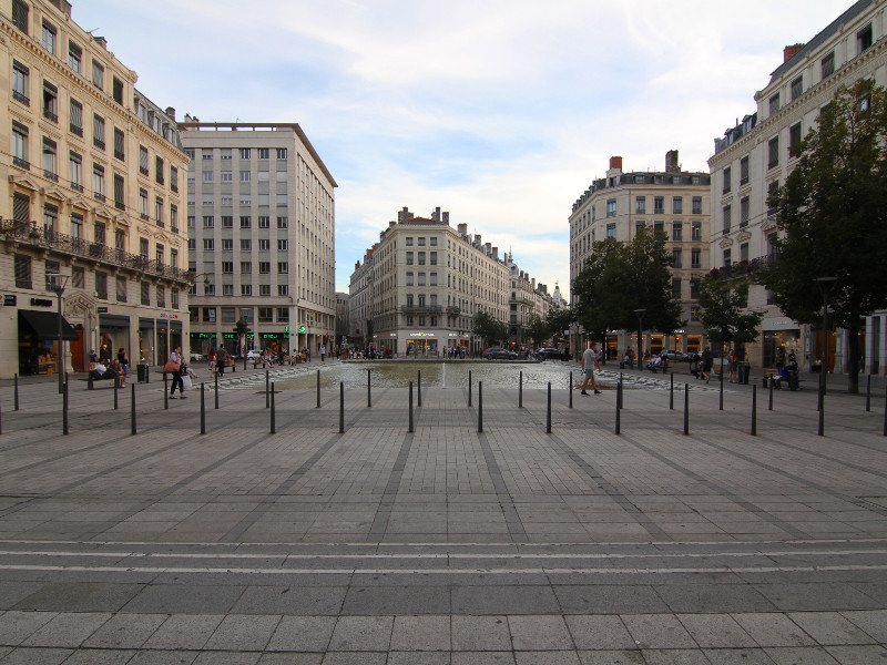 Place de la Republique, Lyon, France