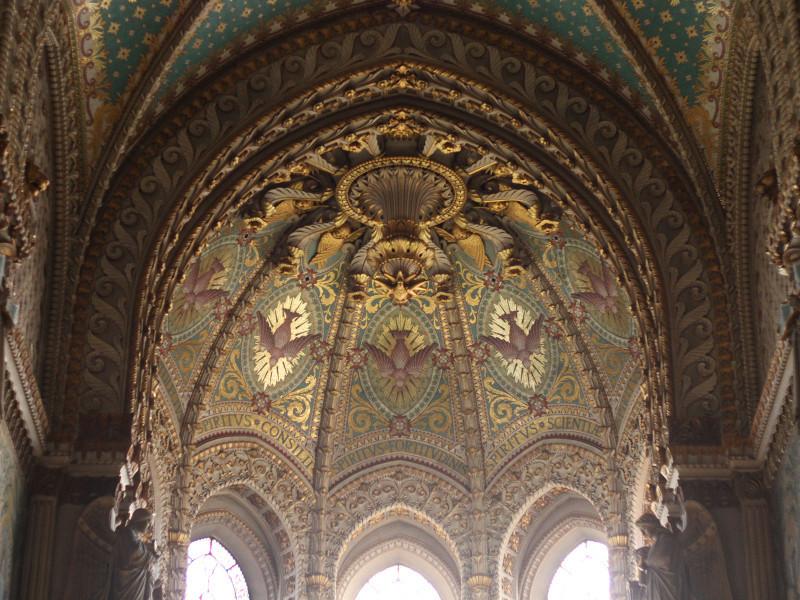 Fourviere Basilica, Lyon, France