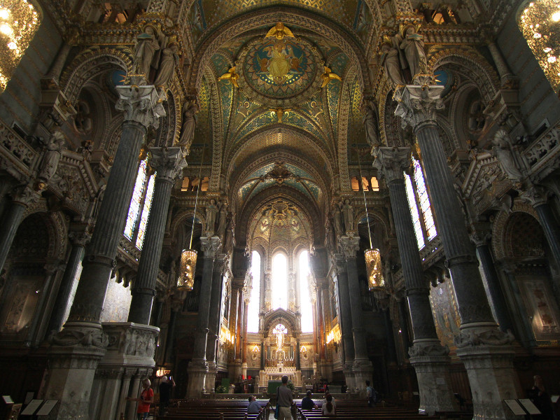 Fourviere Basilica, Lyon, France