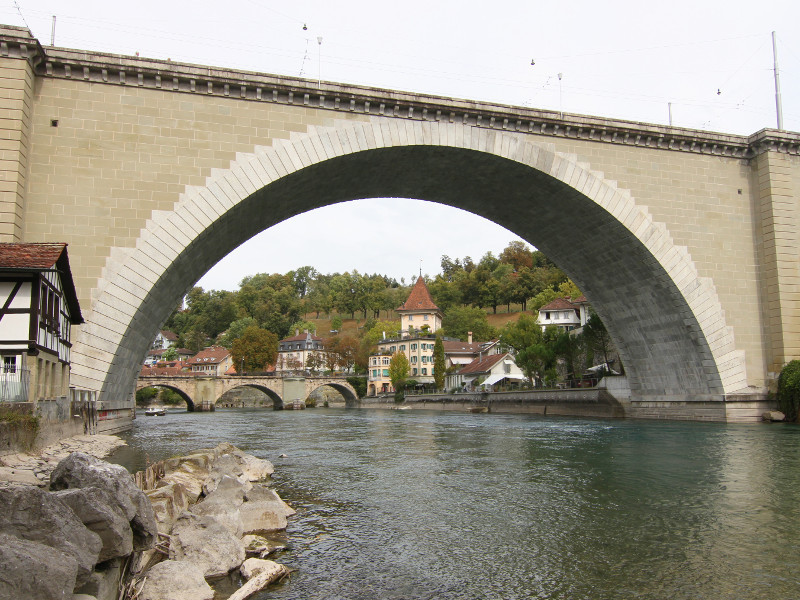 Nydeggbrucke, Bern, Switzerland