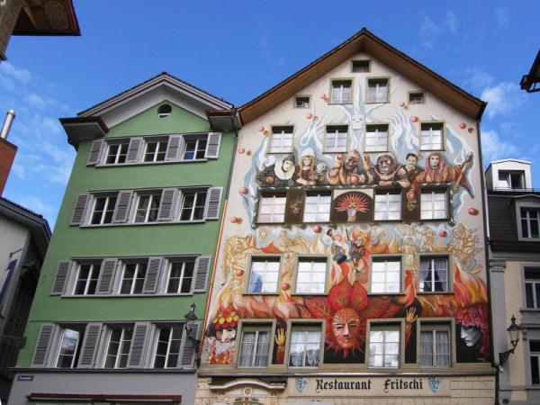Sternenplatz, Lucerne, Switzerland
