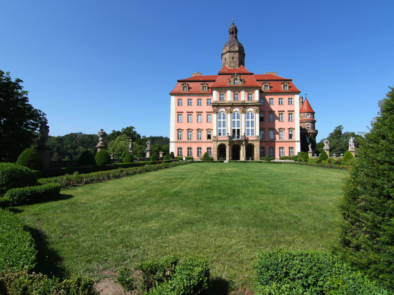 Ksiaz Castle, Walbrzych, Poland