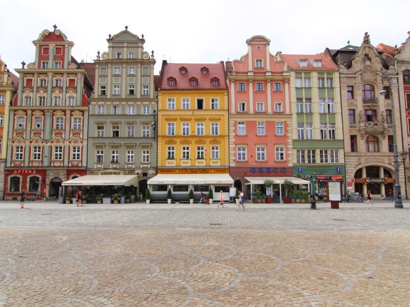 Rynek, Wroclaw, Poland