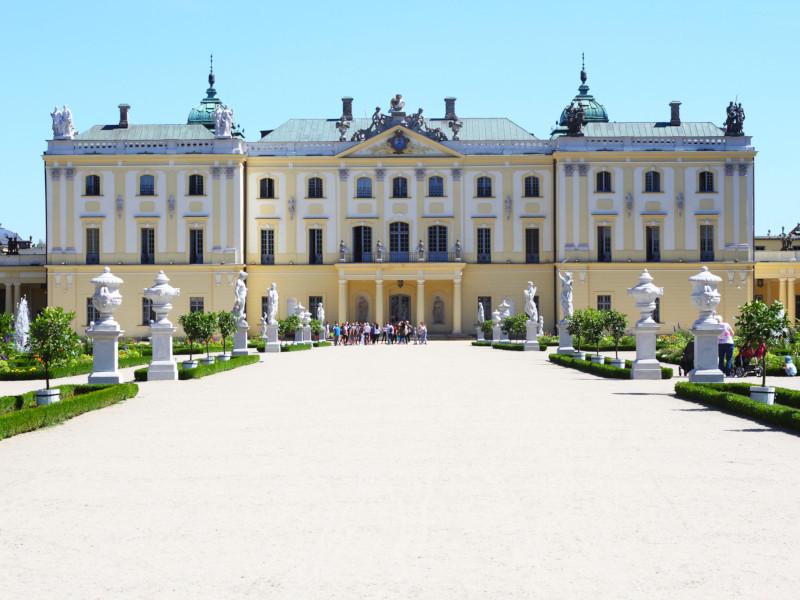 Branickich Palace, Bialystok, Poland