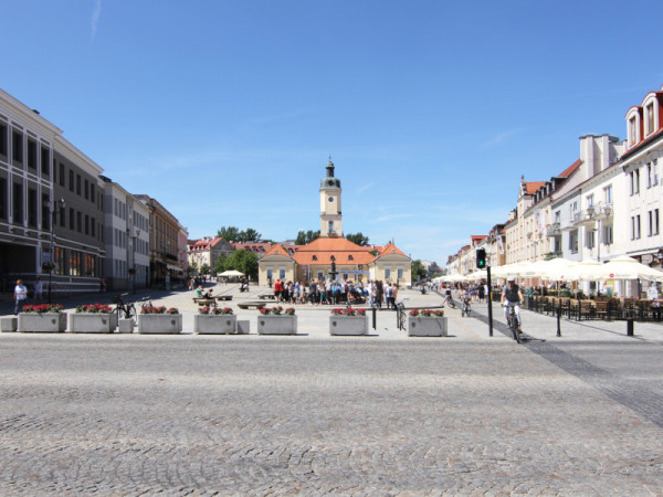 Rynek Kosciuszki, Bialystok, Poland