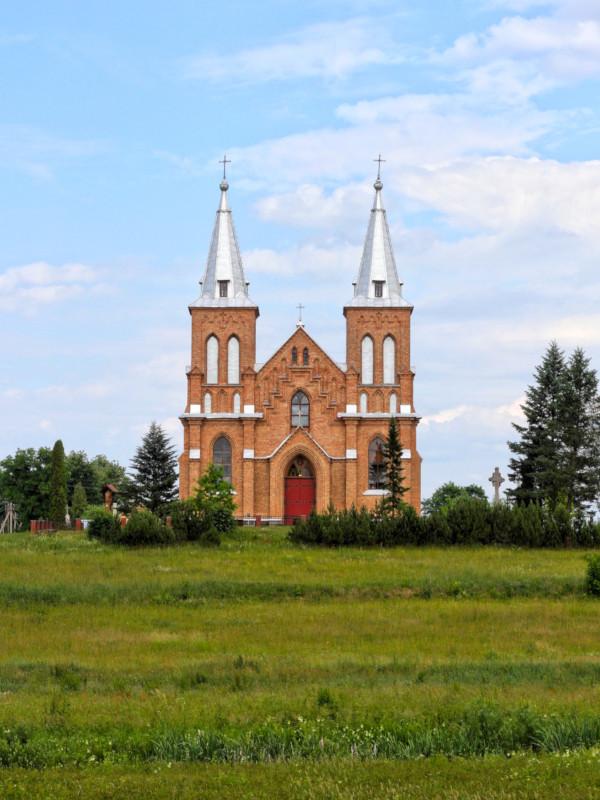 Bishop Stanislovas Church, Kazitiskis, Lithuania