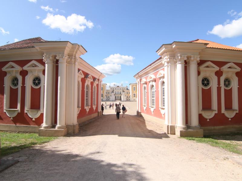 Rundale Palace, Rundale, Latvia
