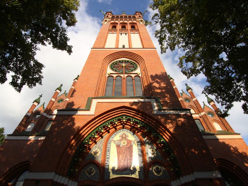 Sacred Heart Church, Olsztyn, Poland