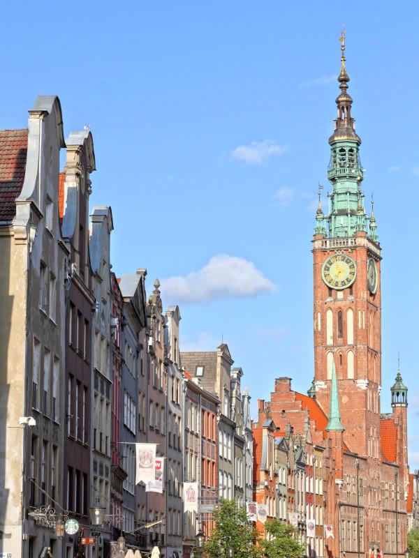 Dluga Street, Gdansk, Poland