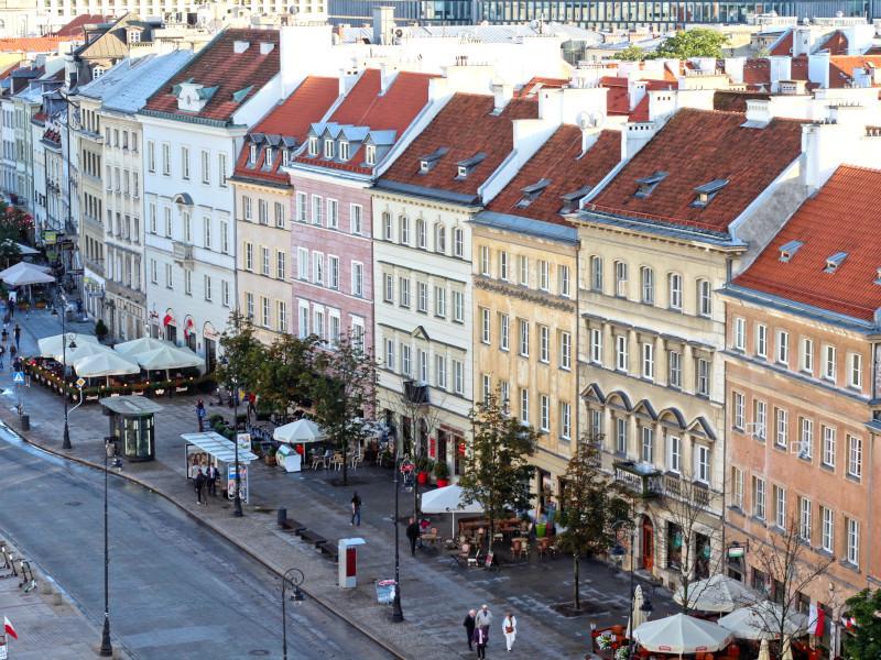 Krakowskie Przedmiescie, Warsaw, Poland