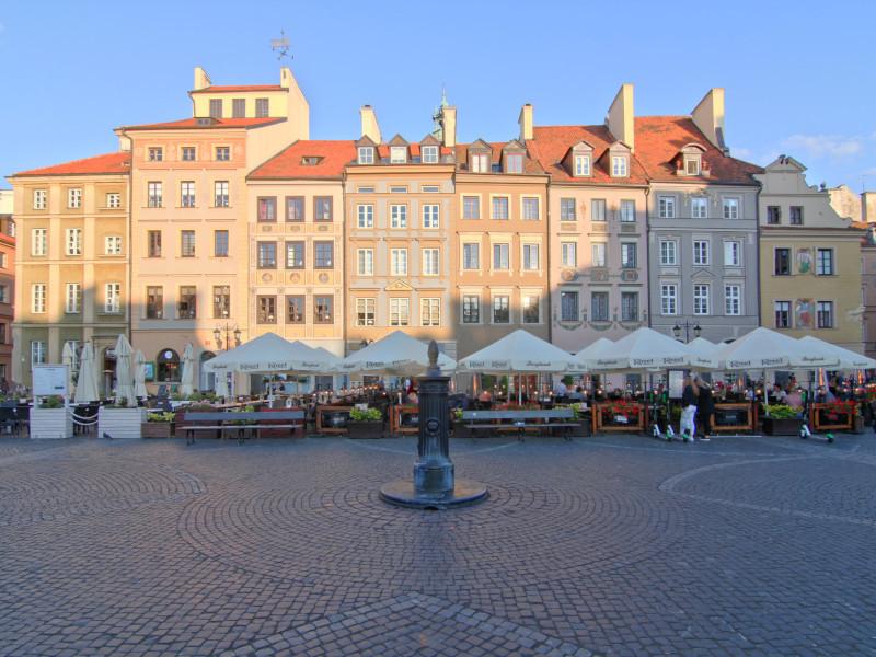 Rynek, Warsaw, Poland