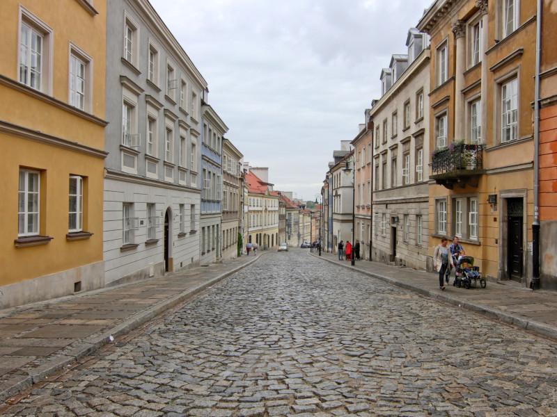 Mostowa Street, Warsaw, Poland
