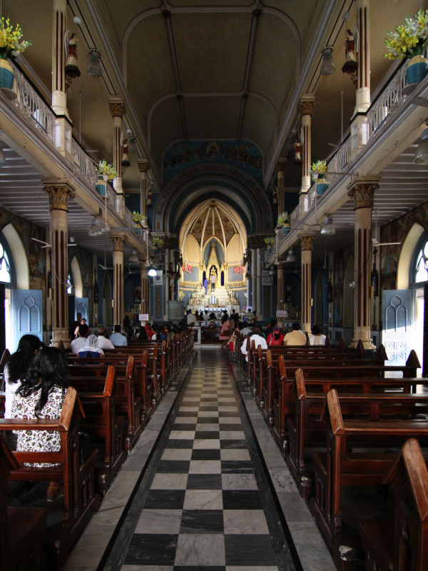 Mount Mary Basilica, Bandra, Mumbai, India