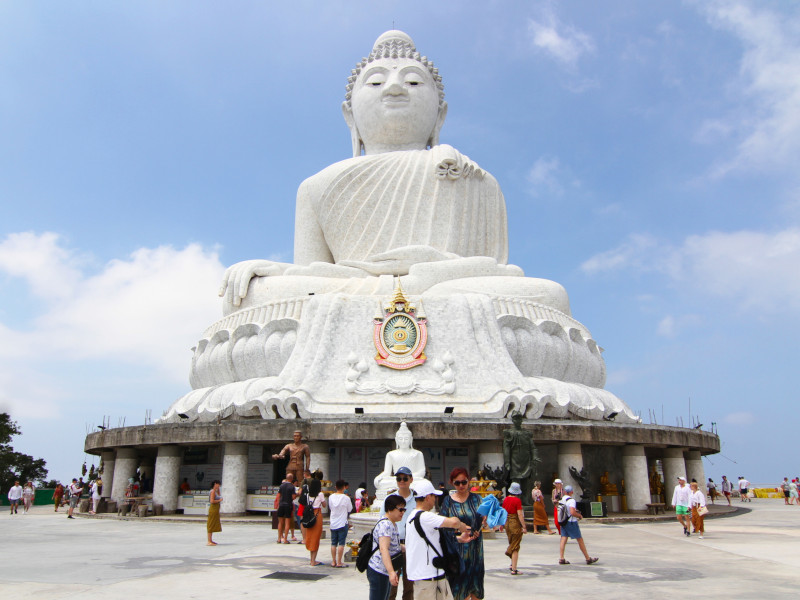 Big Buddha, Karon, Phuket, Thailand