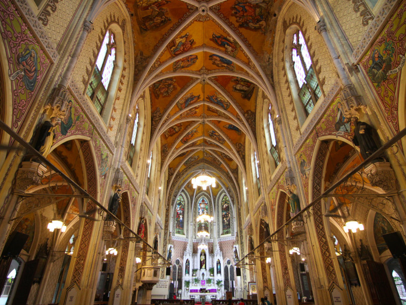 Cathedral of the Holy Name, Colaba, Mumbai, India